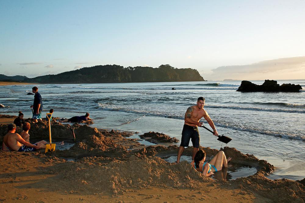 hotwater beach top ten holiday park photography coromandel peninsula