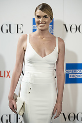 September 13, 2018 - Madrid, Spain - Adriana Abenia attends to photocall of Vogue Fashion Night Out 2018 in Madrid, Spain. September 14, 2018. (Credit Image: © Coolmedia/NurPhoto/ZUMA Press)