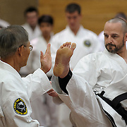 Master Low and Instructors -- First Tae Kwon Do