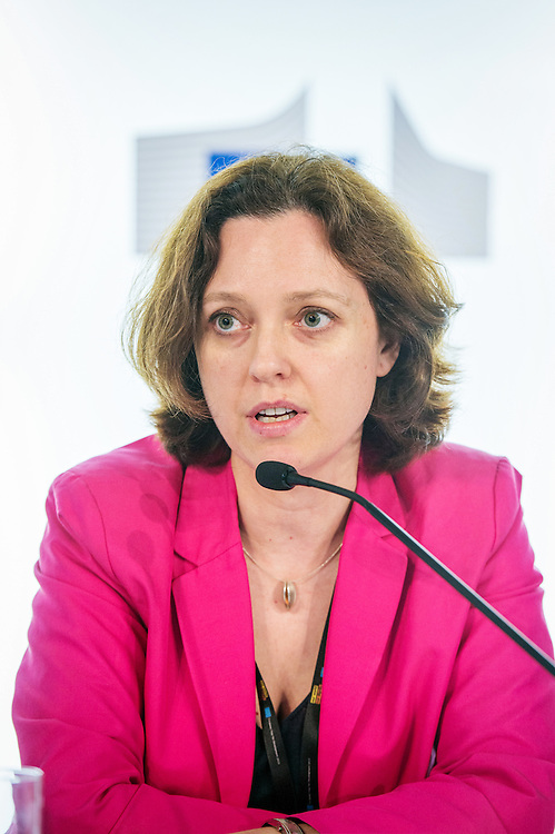 04 June 2015 - Belgium - Brussels - European Development Days - EDD - Financing - Getting the right information into the right hands - Harnessing open data for development - Sarah Lacoche , Head of Division , Strategic Steering and Accountability Division © European Union