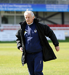 Keef !! - Photo mandatory by-line: Neil Brookman/JMP - Mobile: 07966 386802 - 18/04/2015 - SPORT - Football - Dover - Crabble Athletic Ground - Dover Athletic v Bristol Rovers - Vanarama Football Conference
