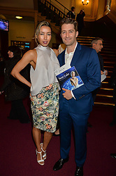 Actor MATTHEW MORRISON and his wife RENEE arriving at Swan Lake at The Royal Albert Hall, London on 2nd June 2016.