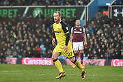 Burton Albion striker Liam Boyce (27) makes his competitive debut for Burton Albion after an ACL injury during the EFL Sky Bet Championship match between Aston Villa and Burton Albion at Villa Park, Birmingham, England on 3 February 2018. Picture by Richard Holmes.