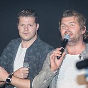 NLD/Amsterdam/20171019 - Prijsuitreiking en mini concert David Guetta, Coen Swijnenberg en Sander Lantinga