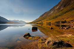 Loch Etive in autumn at the end of Glen Etive, Highlands of Scotland<br /> <br /> (c) Andrew Wilson | Edinburgh Elite media