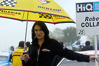2008 British Touring Car Championship.Croft, North Yorkshire, United Kingdom. 31st May - 1st June 2008..Motorbase Performance Grid Girl.World Copyright: Peter Taylor/PSP