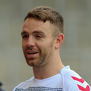 Richie Myler of England during a press conference at Leigh Sports Village, Leigh<br /> Picture by Steve McCormick/Focus Images Ltd 07545 862647<br /> 16/10/2018