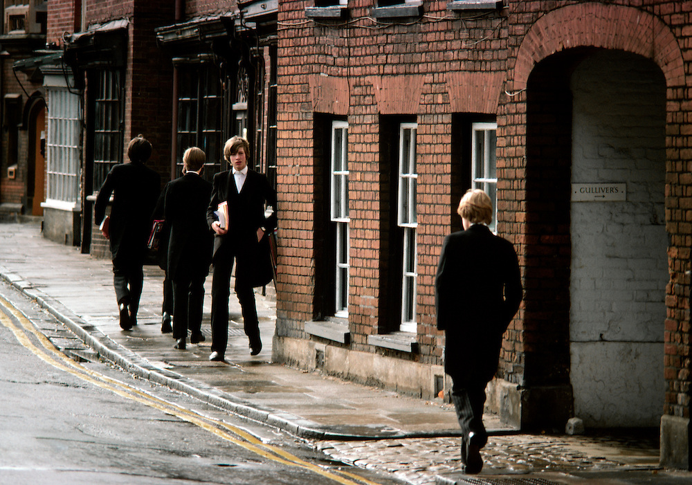 Eton school boys, England