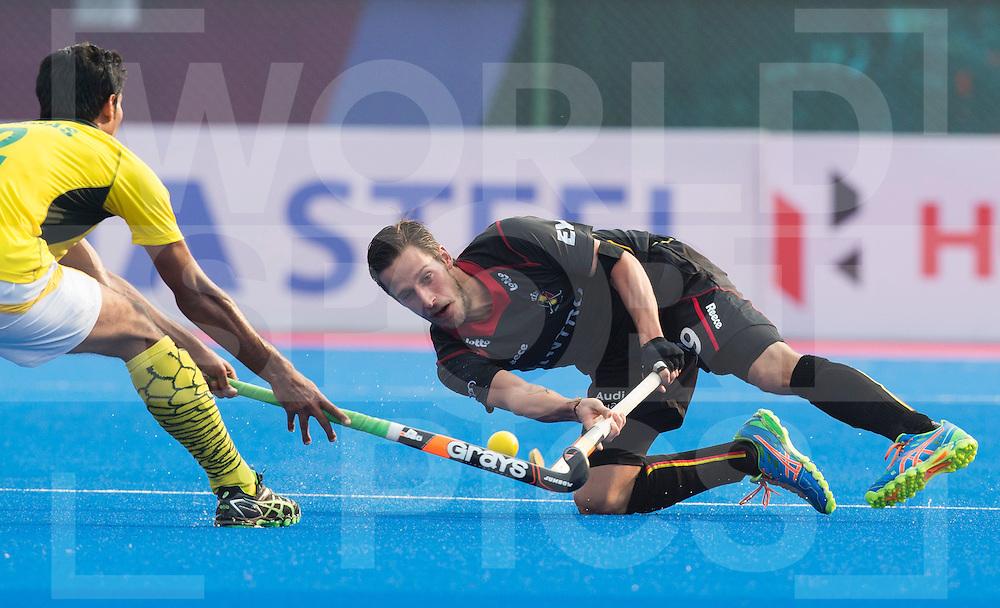 BHUBANESWAR  (INDIA)  - Sebastien Dockier of Belgium. Champions Trophy Hockey men. Day 1. Belgium vs Pakistan. PHOTO  KOEN SUYK