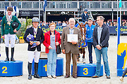 Podium World Championships 5 Years 1. Willem Greve - Garant, <br /> FEI World Breeding Jumping Championships for Young Horses 2016<br /> © DigiShots