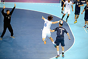 DESCRIZIONE : France Handball Jeux Olympiques Londres <br /> GIOCATORE : Gille Bertrand  FRA<br /> SQUADRA : France Homme<br /> EVENTO : FRANCE Handball Jeux Olympiques<br /> GARA : FRANCE ARGENTINE<br /> DATA : 31 07 2012<br /> CATEGORIA : handball Jeux Olympiques<br /> SPORT : HANDBALL<br /> AUTORE : JF Molliere <br /> Galleria : France JEUX OLYMPIQUES 2012 Action<br /> Fotonotizia : France Handball Homme Jeux Olympiques Londres premier tour <br /> Predefinita :
