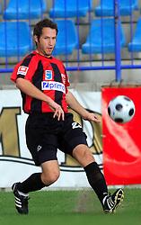 Matej Mlakar  (23) of Primorje of Nafta at 12th Round of PrvaLiga Telekom Slovenije between NK Primorje vs NK Nafta Lendava, on October 5, 2008, in Town stadium in Ajdovscina. Nafta won the match 2:1. (Photo by Vid Ponikvar / Sportal Images)