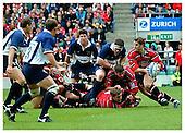 Gloucester v Bristol. Zurich Premiership Final. Season 2001-2002