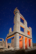 The ghost town of Rhyolite just outside Death Valley National Park