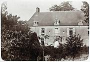 grand mansion rural France 1900s