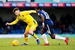 Ollie Clarke of Bristol Rovers is marked by Dru Yearwood of Southend United - Mandatory by-line: Ryan Hiscott/JMP - 01/01/2009 - FOOTBALL - Roots Hall - Southend-on-Sea, England - Southend United v Bristol Rovers - Sky Bet League One