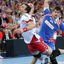 20090130: Handball - World Championship, - Semifinals, Croatia vs Poland