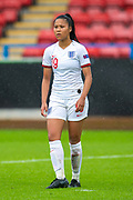 Asmita Ale (#19) of England during the UEFA Women's U19 European Championship match between England Women and Spain at Forthbank Stadium, Stirling, Scotland on 19 July 2019.