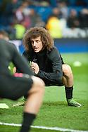 David Luiz of Paris Saint-Germain during the UEFA Champions League match at the Estadio Santiago Bernabeu, Madrid<br /> Picture by Marcos Calvo Mesa/Focus Images Ltd +34 654142934<br /> 03/11/2015