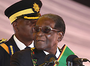 Harare: Robert Mugabe at Heroes Day commemorations - 14 Aug 2017