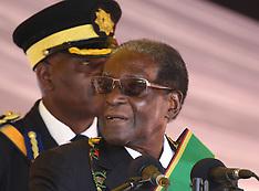 Harare: Robert Mugabe at Heroes Day commemorations - 14 Aug 2017