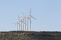 Electric Windfarms, near McCamey, Texas