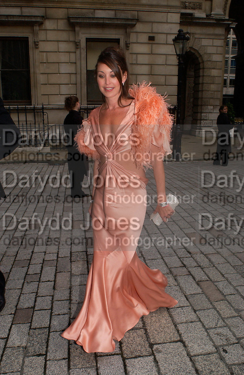 Tamara Mellon, Around the World in One night, gala to raise money for the Royal Academy,   Royal Academy. 21 June 2004. ONE TIME USE ONLY - DO NOT ARCHIVE  © Copyright Photograph by Dafydd Jones 66 Stockwell Park Rd. London SW9 0DA Tel 020 7733 0108 www.dafjones.com