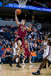 Elon guard Chris Long (13) shoots against Virginia.  The Virginia Cavaliers men's basketball team defeated the Elon Phoenix 91-61  at the John Paul Jones Arena in Charlottesville, VA on December 22, 2007.