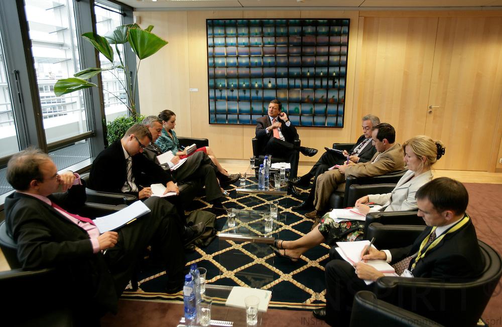 BRUSSELS - BELGIUM - 28 AUGUST 2007 --  Jose Manuel BARROSO President of the European Commission.  Photo: Erik Luntang