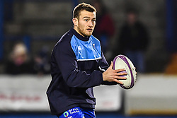 Garyn Smith of Cardiff Blues during the pre match warm up - Mandatory by-line: Craig Thomas/JMP - 14/01/2018 - RUGBY - BT Sport Cardiff Arms Park - Cardiff, Wales - Cardiff Blues v Toulouse - European Rugby Challenge Cup