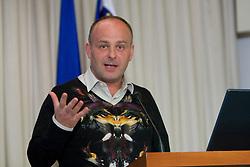 Vital Verlic of Futura at Management conference of Slovenian Football Federation, on March 10, 2009, in Hotel Kokra, Brdo pri Kranju, Slovenia. (Photo by Vid Ponikvar / Sportida)