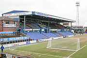 General view of the stadium before the EFL Sky Bet League 1 match between Oldham Athletic and Bury at Boundary Park, Oldham, England on 11 March 2017. Photo by Mark P Doherty.