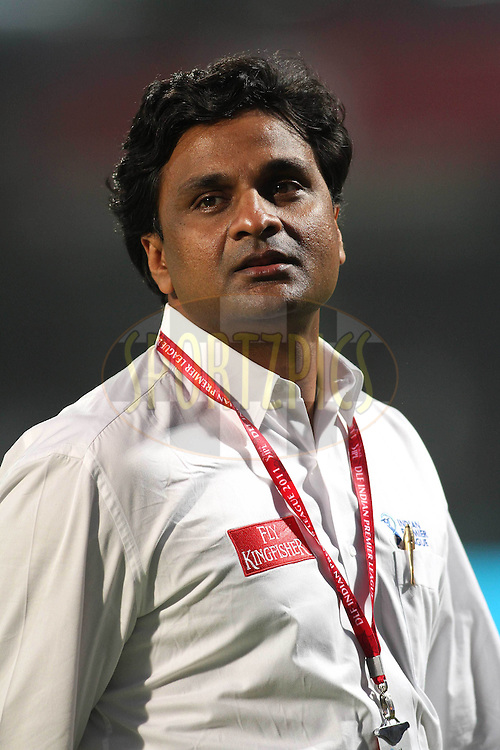 Match Referee Javagal Srinath during match 26 of the Indian Premier League ( IPL ) Season 4 between the Delhi Daredevils and the Kings XI Punjab held at the Feroz Shah Kotla Stadium in Delhi, India on the 23rd April 2011..Photo by Shaun Roy/BCCI/SPORTZPICS