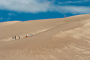 View of Great Sand Dunes National Monument and Preserve, near Alamosa, Colorado, USA