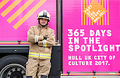 Hull 2017 - City of Culture Fire Engine
