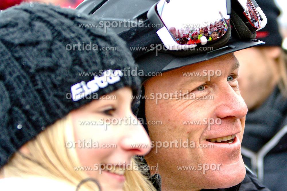 25.01.2013, Streif, Kitzbuehel, AUT, FIS Weltcup Ski Alpin, Abfahrt, Herren, Super G, im Bild SkiAss Didier Couche (SUI) // during mens SuperG ..of the FIS Ski Alpine World Cup at the Streif course, Kitzbuehel, Austria on 2013/01/25. EXPA Pictures © 2013, PhotoCredit: EXPA/ Markus Casna