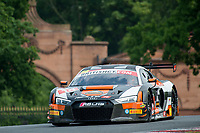 Ryan Ratcliffe (GBR) / Will Moore (GBR)  #14 Optimum Motorsport  Audi R8 LMS  Audi 5.2L V10 British GT Championship at Oulton Park, Little Budworth, Cheshire, United Kingdom. May 28 2016. World Copyright Peter Taylor/PSP.