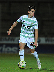 Yeovil Town's Liam Sheppard  - Photo mandatory by-line: Harry Trump/JMP - Mobile: 07966 386802 - 03/03/15 - SPORT - Football - Sky Bet League One - Yeovil v Walsall - Huish Park, Yeovil, England.