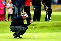 Golf - 2019 Senior Open Championship at Royal Lytham & St Annes - Fiinal Round <br /> <br /> Paul Broadhurst (ENG) lines up his putt on the 2nd green.<br /> <br /> COLORSPORT/ALAN MARTIN