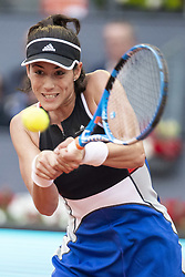 May 9, 2018 - Madrid, Spain - Spanish Garbine Muguruza during Mutua Madrid Open 2018 at Caja Magica in Madrid, Spain. May 09, 2018. (Credit Image: © Coolmedia/NurPhoto via ZUMA Press)