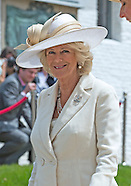 Prince Charles and Camilla visit Hougoumont Farm 2