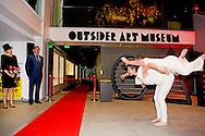 16-3-2016 AMSTERDAM - Koningin Maxima opent woensdagochtend 16 maart het Outsider Art Museum met werken van nationale en internationale kunstenaars in de Hermitage Amsterdam. 'Outsider Art' is een verzamelnaam voor bijzondere onconventionele werken. De kunstenaars hebben geen kunstopleiding genoten en zijn actief buiten het professionele kunstcircuit. Een aantal van hen heeft een verstandelijke beperking of een psychiatrische achtergrond. COPYRIGHT ROBIN UTRECHT<br /> 16-3-2016 AMSTERDAM - Queen Maxima opens Wednesday March 16 the Outsider Art Museum with works by national and international artists in the Hermitage Amsterdam. 'Outsider Art' is a generic term for special unconventional work. The artists have artistic training and operating outside the professional art circuit. Some of them have an intellectual disability or mental illness. COPYRIGHT ROBIN UTRECHT