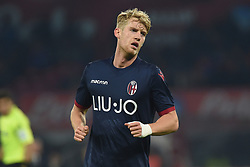 December 29, 2018 - Naples, Naples, Italy - Filip Helander of Bologna FC during the Serie A TIM match between SSC Napoli and Bologna FC at Stadio San Paolo Naples Italy on 29 December 2018. (Credit Image: © Franco Romano/NurPhoto via ZUMA Press)