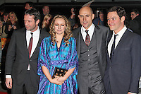 LONDON - MARCH 01: James Purefoy, Samantha Morton, Mark Strong, Dominic West attend the UK Film Premiere of 'John Carter' at the BFI Southbank, London, UK. March 01, 2012. (Photo by Richard Goldschmidt)
