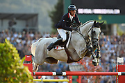 Mathieu BILLOT (FRA) riding Quel Filou during the Nations Cup of the World Equestrian Festival, CHIO of Aachen 2018, on July 13th to 22th, 2018 at Aachen - Aix la Chapelle, Germany - Photo Christophe Bricot / ProSportsImages / DPPI
