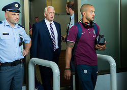Theo Walcott during arrival of  England National Football team 1 day before EURO 2016 Qualifications match against Slovenia, on June 13, 2015 in Airport Joze Pucnik, Brnik - Ljubljana, Slovenia. Photo by Vid Ponikvar / Sportida