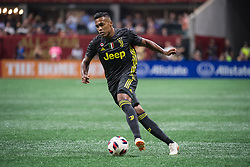 August 1, 2018 - Atlanta, Georgia, United States - Juventus defender ALEX SANDRO, 12 during the 2018 MLS All-Star Game at Mercedes-Benz Stadium in Atlanta, Georgia.  Juventus F.C. defeats  MLS All-Stars defeat  1 to 1  (Credit Image: © Mark Smith via ZUMA Wire)