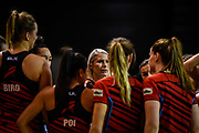 Marianne Delaney-Hoshek Coach of the Tactix during the ANZ Premiership Netball match, Tactix V Magic, Horncastle Arena, Christchurch, New Zealand, 6th June 2018.Copyright photo: John Davidson / www.photosport.nz