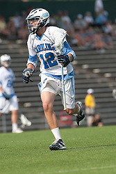 09 May 2009: North Carolina Tar Heels midfielder Sean Burke (42) during a 15-13 win over the University of Maryland - Baltimore County Retrievers on Fetzer Field in Chapel Hill, NC.