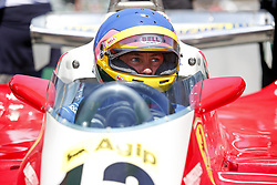 June 10, 2018 - Montreal, Canada - Motorsports: FIA Formula One World Championship 2018, Grand Prix of Canada  Jacques Villeneuve (CDN) Sky Italia drives his Fathers 1978 Canadian GP winning Ferrari 312T3  (Credit Image: © Hoch Zwei via ZUMA Wire)
